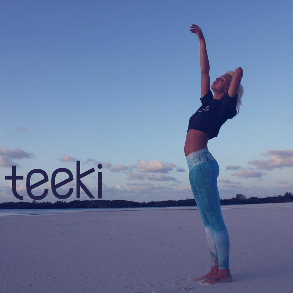 Teeki Yogakläder återvunnen Av Plastflaskor